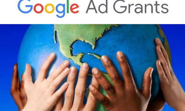 Como funciona o Google Ad Grants