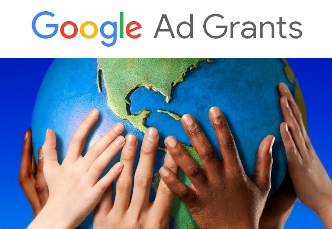 Como funciona o Google Ad Grants